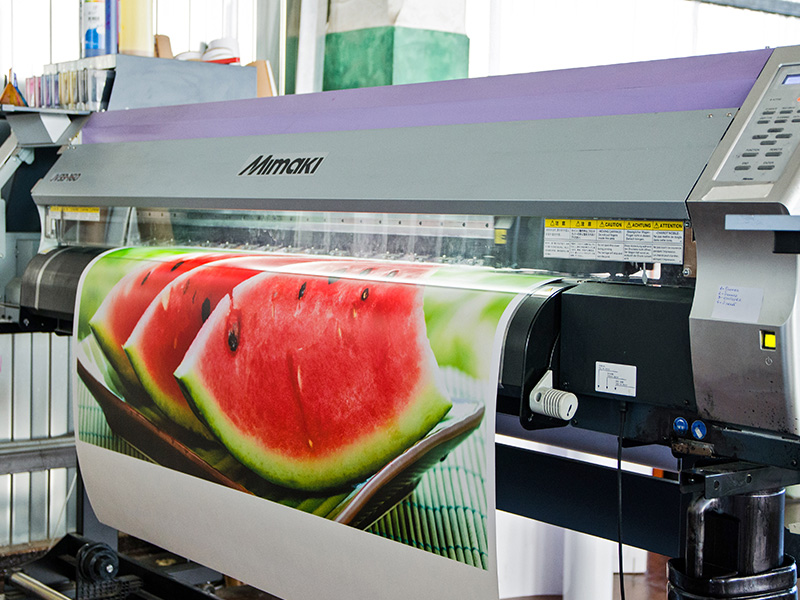 широкоформатная печать выбор разрешения сферы применения широкоформатной печати